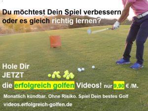 Golf online lernen!
